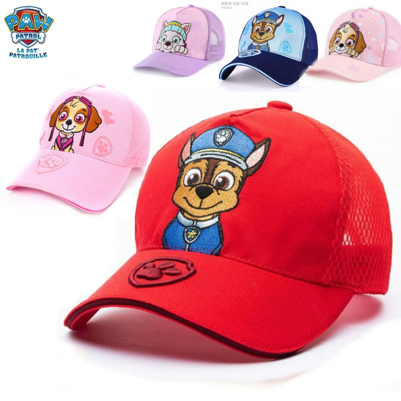 2020 New Genuine PAW PATROL Chase Everest Skye Toy Hat Kids Cap Doll Birthday Christmas Gift Children Toy For Age 2-10 Years