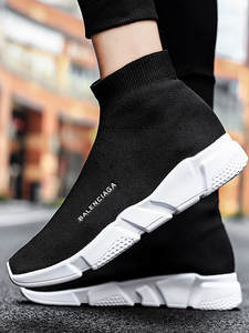 Sock-Shoes Trainers Sneakers Men Unisex-Basket Zapatillas Slip-On Femme Casual Hombre