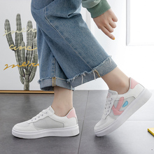 Hot Sale Spring Women Flats Shoes Platform Sneakers Lace Up Flat Leather Pu Leather Ladies Loafers Casual Shoes Women D0060 pu leather shoes women white sneakers spring autumn women lace up flats shoes casual woman footwear ladies platform shoes
