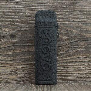 Image 2 - SMOK NOVO 2 funda de silicona con textura de sistema Pod, funda protectora de goma, envoltura de cuero, 25W, 800mAh