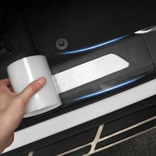 1 Roll Auto Dorpel Strips Transparante Stickers Anti-Stepping Bumper Onzichtbare Decoratieve Anti-Wrijving Universele Deur Crash Strip(China)