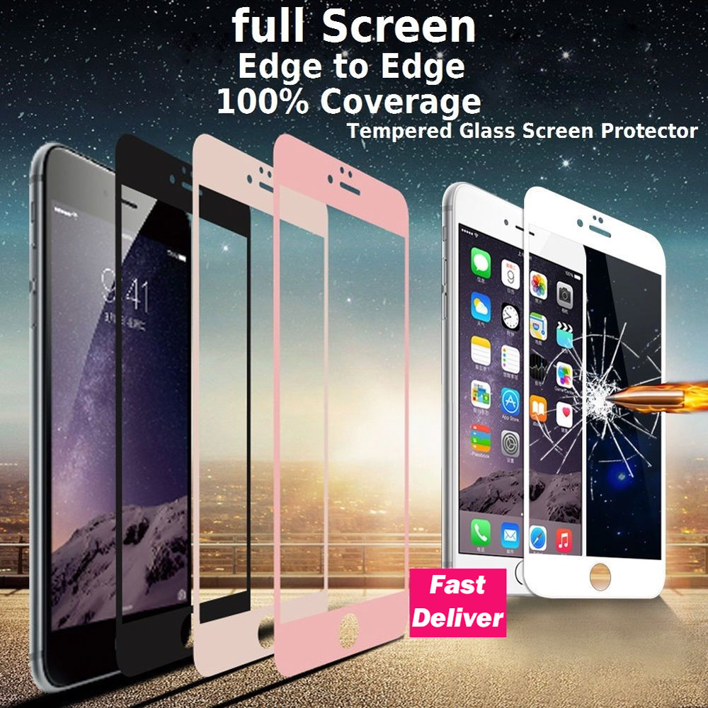 FQYANG 3D 9H Hardness Tempered Glass for iphone Iphone 11 Pro Max XS MAX XR X Screen Protector film For iPhone 8 7 6 6S Plus 8P