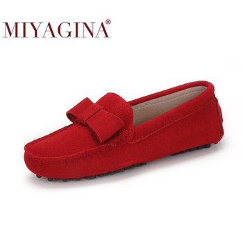 Summer Women Shoes Slip on Woman Genuine Leather Flat Fashion Handmade Loafers Female Casual Flats