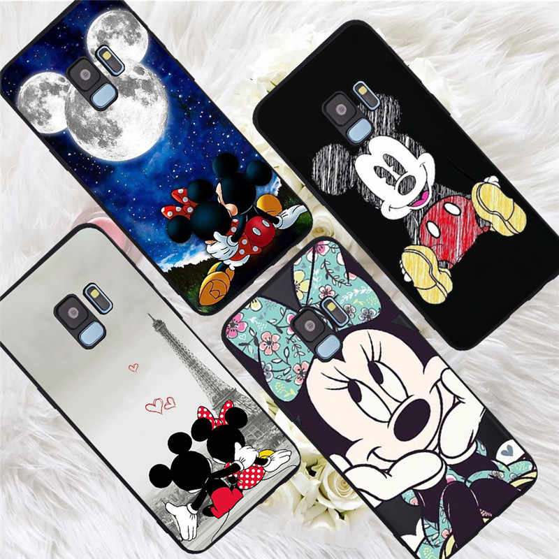Mickey For Samsung Galaxy S6 S7 Edge S8 S9 S10 Plus Lite Note 8 9 10 A30 A40 A50 A60 A70 M10 M20 pro phone Case Cover funda capa