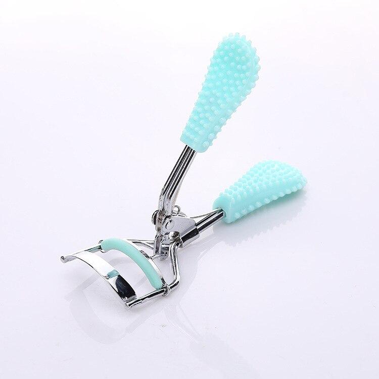 Professional Exquisite Eyelashes Lash Curler Anti-slip Handle Supplementer Clip CurlingEyelash Makeup Tool