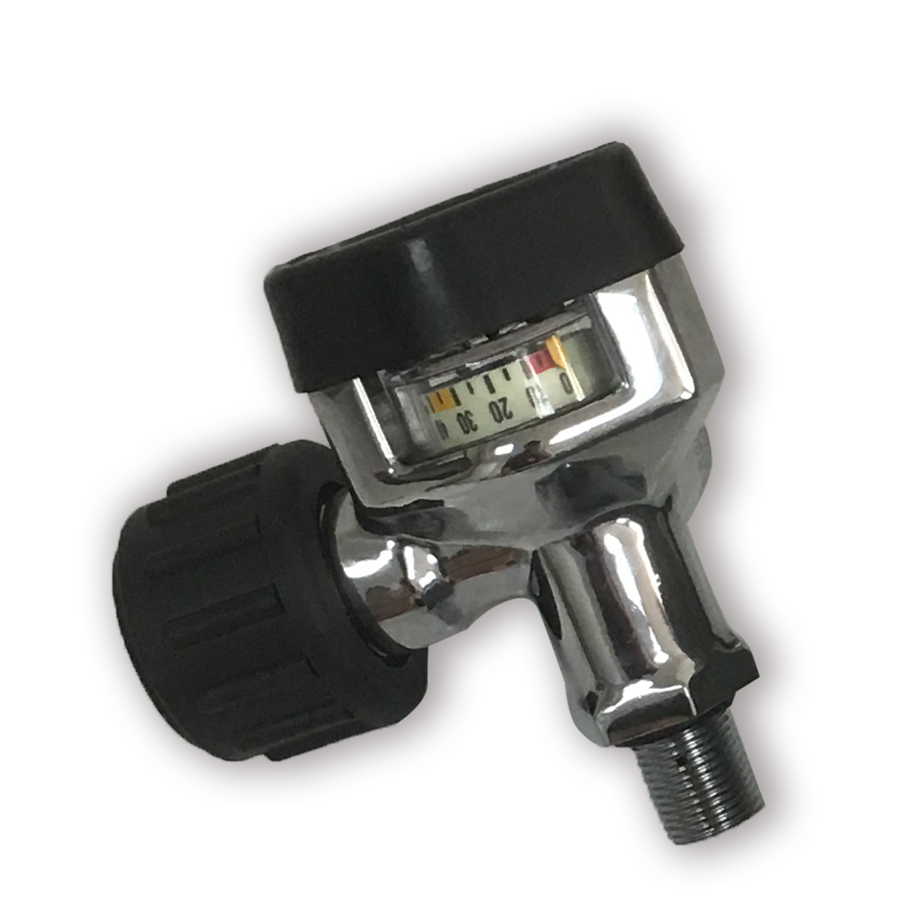 AC931 Pcp Paintball Din Valve Tank On/Off Valves M18 Male G5/8 Female 30Mpa/4500Psi For M18*1.5 High Pressure Cylinders/Cf Tank