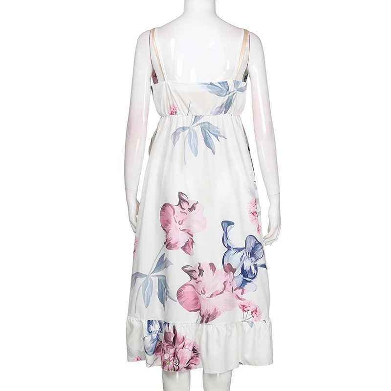 ملابس للحمل الحمل اللباس ملابس حمل الحوامل اللباس عارضة الزهور Falbala و مريحة فستان الشمس الصيف النساء اللباس