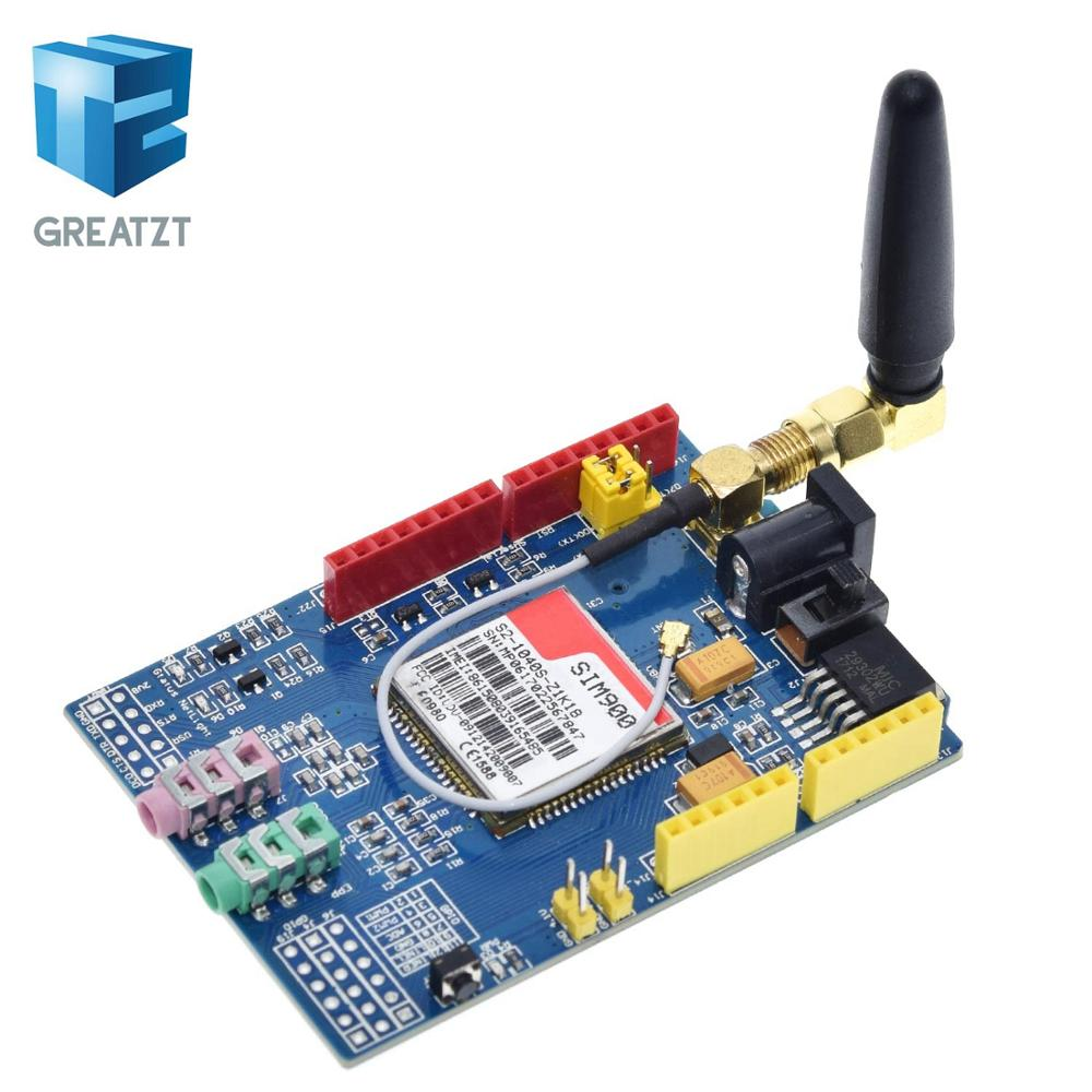 GREATZT SIM900 850/900/1800/1900 MHz GPRS/GSM Development Board Module Kit For Arduino