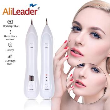 Spot Mole Remover Electric Laser Face Wart Skin Tag Tattoo Removal Pen Black Dots Freckle Removal Machine Face Skin Care Tools new arrivals electric laser age spot pen mole scars warts freckle tattoo removal machine with lcd display