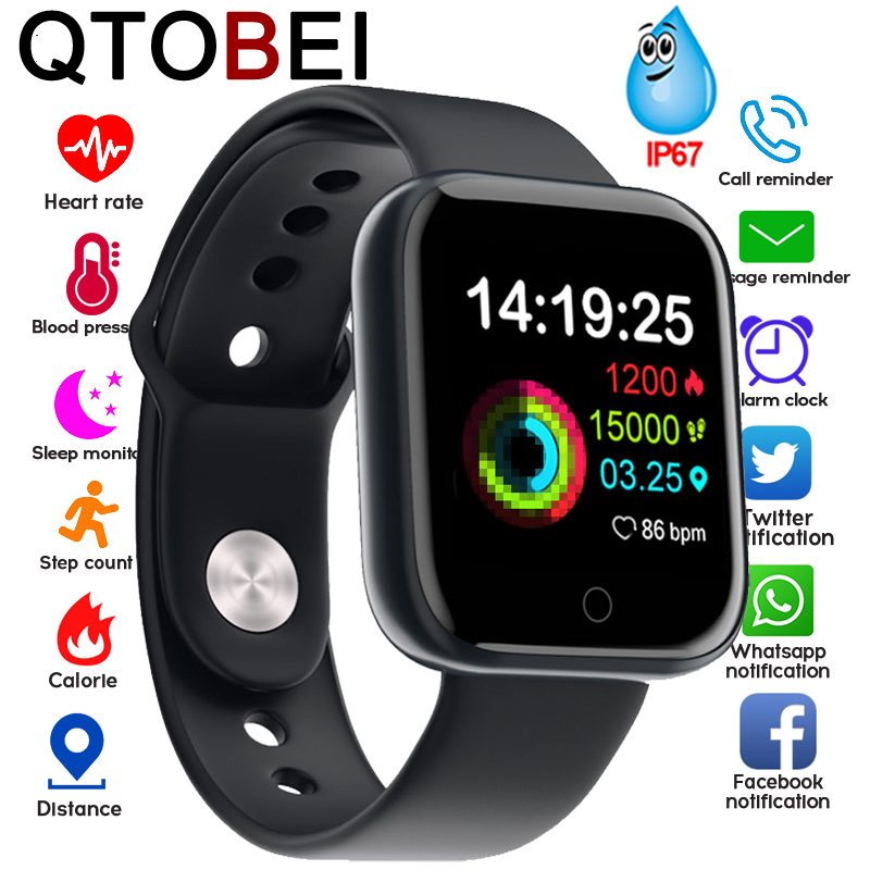 Smart Watch Men Women For Android IOS 1.3'' Screen Pedometer Fitness Tracker Watch Health Heart Sport Smartwatch Ip67 Waterproof