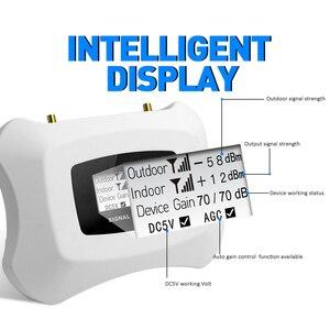 Image 3 - 뜨거운!! 가정용 Yagi + 천장 안테나 키트가있는 3G 신호 중계기 3G 2100MHz 모바일 신호 부스터 3G 휴대 전화 증폭기 키트