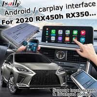 Android / carplay interface box for Lexus RX 2020 12.3 / 8 video interface with remote touch control RX350 RX450h by lsailt