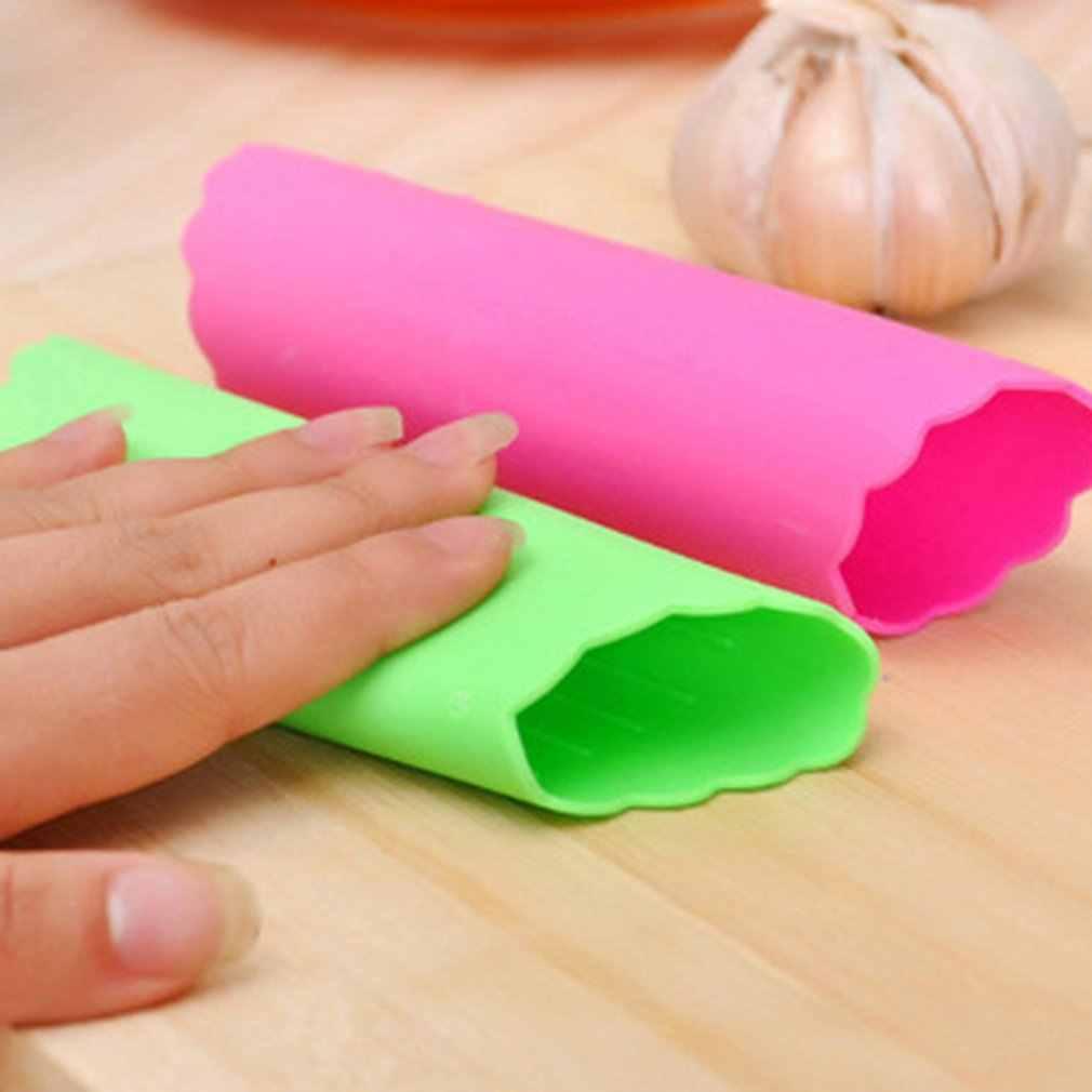 Acier inoxydable ail Presses manuel ail hachoir hachage ail outils courbe fruits légumes outils cuisine Gadgets