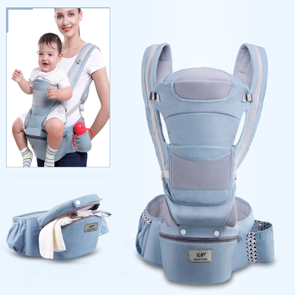 Toddler Tush Stool Baby Wrap Carrier Front and Back Pink 360 Ergonomic Baby Carrier 6-in-1 Convertible Carrier for All Seasons Baby Carrier Hip Seat