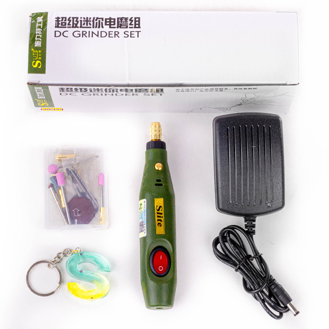 Mini Electric Drill Set Variable Speed Usb Charging for Epoxy Resin Jewelry Making Diy Pearl Wood Craft Tools Kit for Resin 4