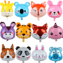 Helium-Balloons Wedding-Birthday-Decor Panda-Rabbit Cartoon-Animal Party-Favor Aluminum-Foil