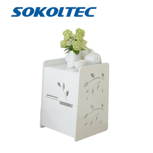 Simple modern group device rack European white drawer small cabinet side cabinet floor-mounted storage cabinet