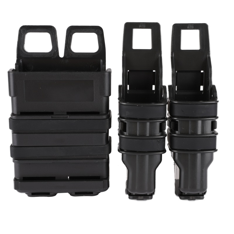 Tactical 9mm 5.56mm <font><b>M4</b></font> FastMag Pistol <font><b>Magazine</b></font> Pouch Quick Reload Heavy Fast Mag Military Airsoft Shooting AK AR Fast Mag image