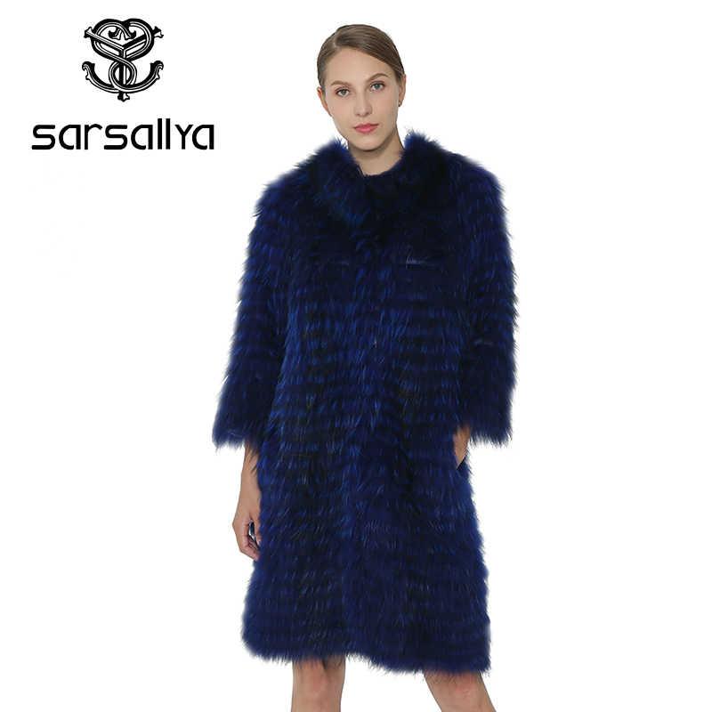 SARSALLYA Frauen Natürlichen Fuchs Pelz Weste Jacke Fashion Echtes Damen Oberbekleidung Echt Fuchs Pelz Mantel Jacke Frauen Kleidung