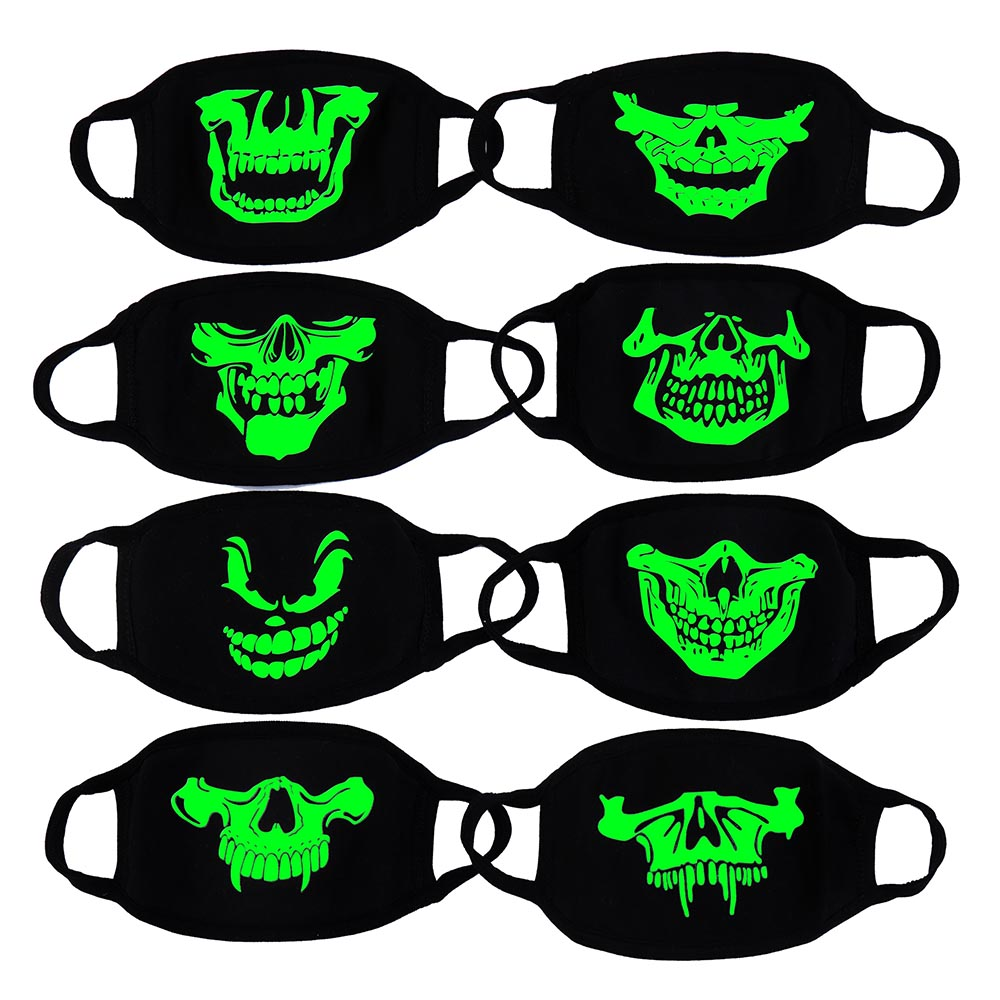 High Quality Unisex 1Pcs Cartoon Cotton Mouth Mask Protective Anti-Dust Mask Kawaii Cute Mouth Mask Reusable Luminous Face Mask 2