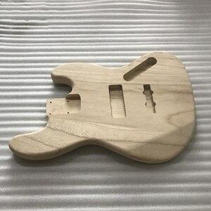 Image 5 - 未完エレキギター本体木材空白ギターバレルjbスタイルエレキギターdiyパーツ