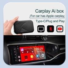 Carplay – boîtier Ai 4 + 32 avec GP pour voiture, système Android, Plug & Play, avec Apple Carplay, Mrrorlink, Youtobe, netflix, nouveauté