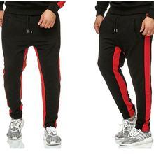 2019 nuevos Joggers de marca de hombre Pantalones casuales pantalones de chándal Casual elástico de algodón gimnasio entrenamien lacywear s 17 kma