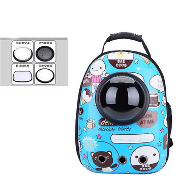 14 colors New Capsule Pet Bag Backpack Breathable Space Pet Backpack Sac De Transport Pour Chat Waterproof Traveler Knapsack - Color 20