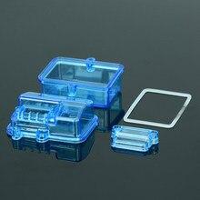 Scatola di ricezione del ricevitore impermeabile di plastica blu per l'accessorio telecomandato dell'automobile di Huanqi727 / Slash RC