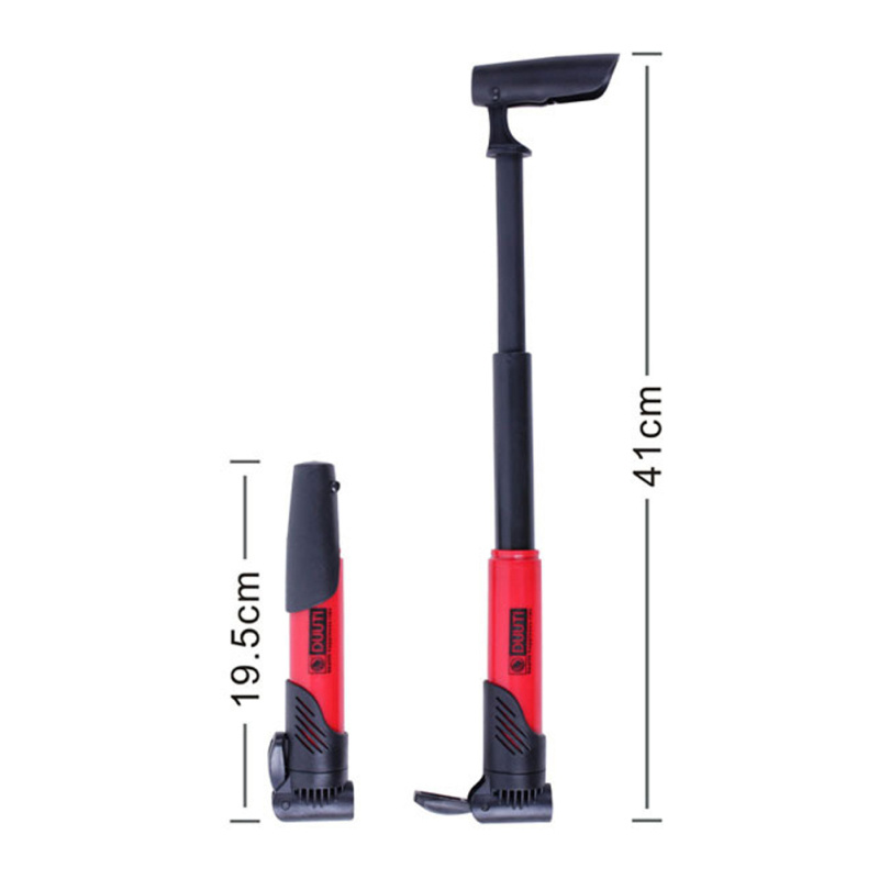 Image 4 - Mini Plastic Bicycle Pump Bicycle Tire Inflator Accessories Mountain Bike Road Bike Portable High intensity Circulation Pump-in Bicycle Pumps from Sports & Entertainment
