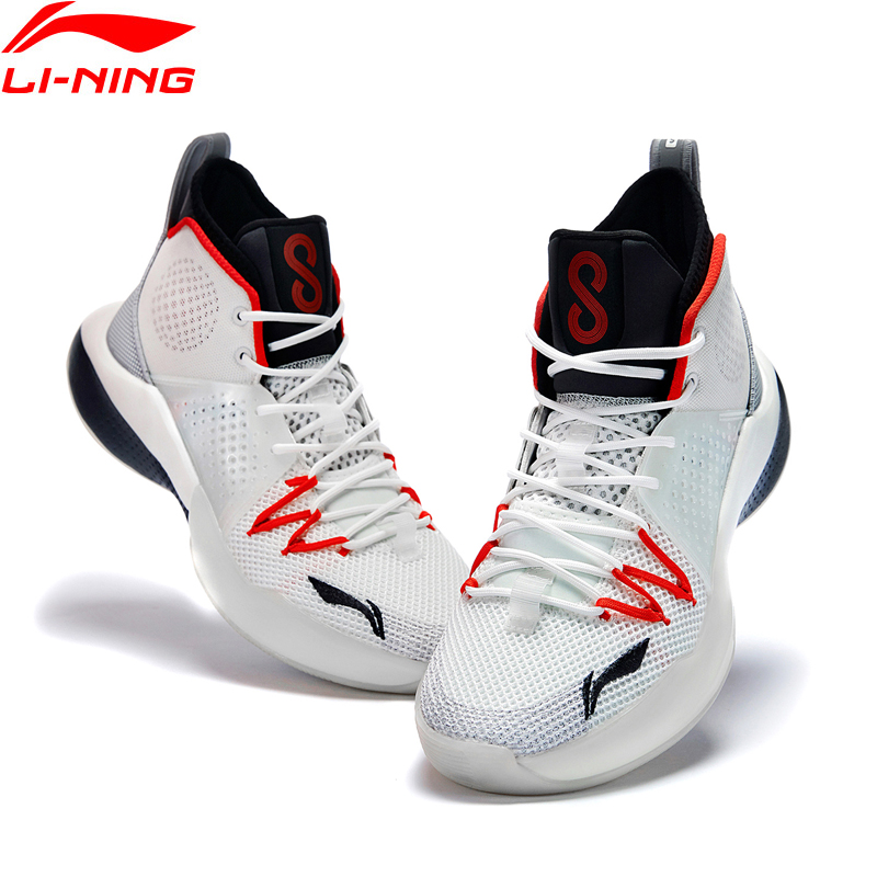 Li-Ning Men SONIC VIII Professional Basketball Shoes LIGHT FOAM Cushion LiNing Li Ning Sport Shoes Sneakers ABAQ025 XYL311