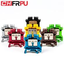 Terminal Blocks Connector Screw-Type Electrical-Crimp-Terminator Universal DIN UK16N