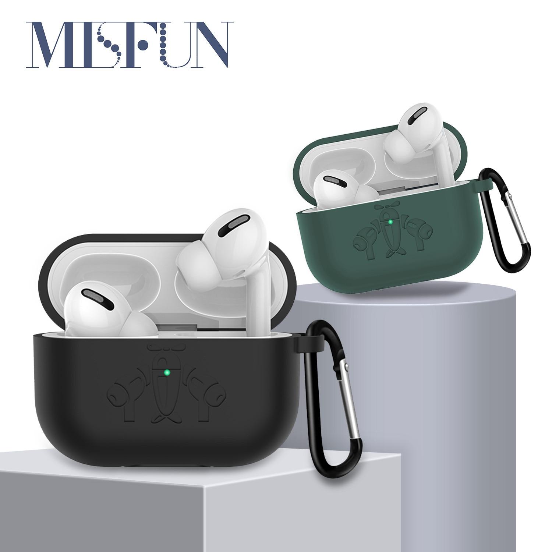 Misfun For Airpods Pro Case Cover Premium Silicone Case Protective