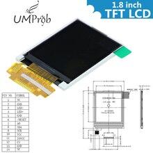 """1,"""" дюймовый Цвет на тонкопленочных транзисторах на тонкоплёночных транзисторах ЖК-дисплей Дисплей модуль 128x160 Дисплей ST7735 последовательный интерфейс SPI ввода-вывода Порты для arduino Diy Kit STM32"""
