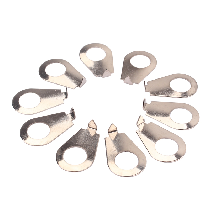 10PCS Guitar Knobs Pointer Plate Knob Position Indicator Guitar Knobs Pointer Plates Stringed Instruments For Guitar Bass