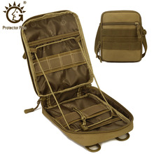 Bag Sling-Bags Waist-Belt Tactical-Shoulder-Bag Protector Plus Molle Army Climbing Hunting