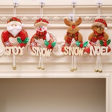 Get more info on the Christmas Gift With Wooden Letters Santa Claus Snowman Tree Merry Christmas Ornaments Toy Doll Hang Decorations for HomeCM