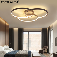 LED led Chandelier for living room bedroom aluminum lamp remote control fast shipping 50% discount