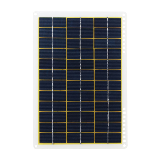 15W 27*18.5*0.3cm Solar Charging Equipment Solar Panel Phone Charger Home Improvement Travel Camp IP65 Solar Cells Powered 6