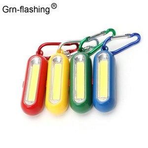 1Pcs Portable Mini COB LED Key