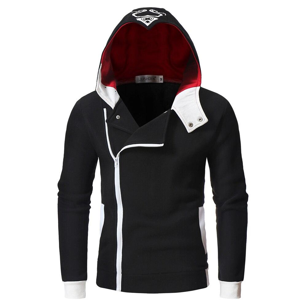 2020 Assassins Creed Mens Sweatshirts Patchwork Casual Hooded Sweatshirt Men Cardigan Stranger Things Zipper Hoodies Men Coat