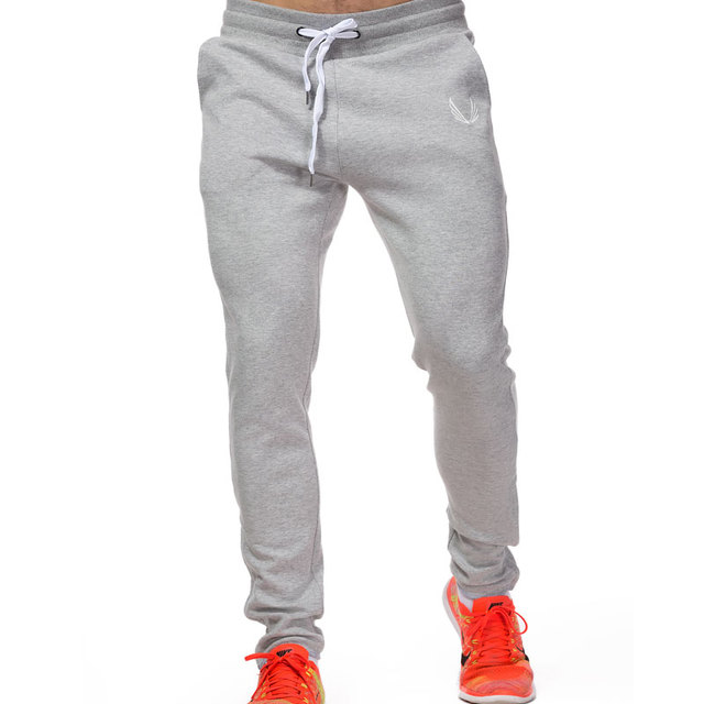 Four Seasons Men's Sports Pants  Gym Fitness Sports Jogging Sports Pants / Men's Casual Cotton Pencil Pants 1