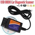 OBD2 ELM327 USB V1.5 автомобильный диагностический сканер кода Elm 327 Obd2 сканер Автомобильные диагностические инструменты кабель для Android IOS Windows