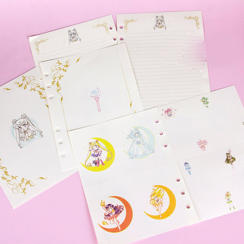 Anime Sailor Moon Student Planner Schedule Notebook Diary Paper Notepaper Gifts