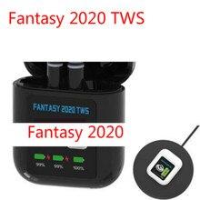 TWS Earpiece FANTASY 2020 LCD Display Mini Wireless Earbuds V5.0+Sports Running Earphones