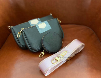 Fashion Casual Female Bag Presbyopia Three-piece Chain Bag Mahjong Bag Mini