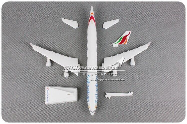montado modelo aviao das linhas aereas americanas 05
