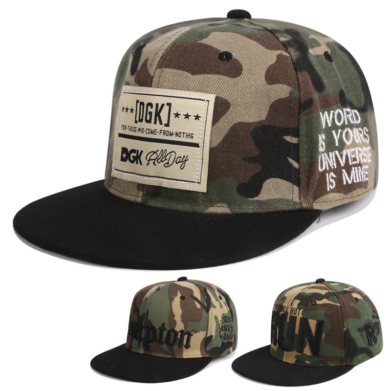 High Quality Brand Adult Male Lady Snapback Caps Baseball Cap Dgk Hat Male And Female Hip Hop Hat Sun Hat The Rapper
