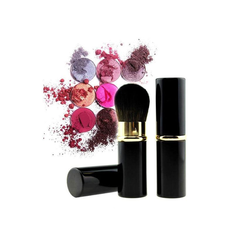 Portable Retractable Makeup Brushes Powder Foundation Face Brush Maquiagem Make Up Cosmetic Tools Blush Brush for Women Cheek
