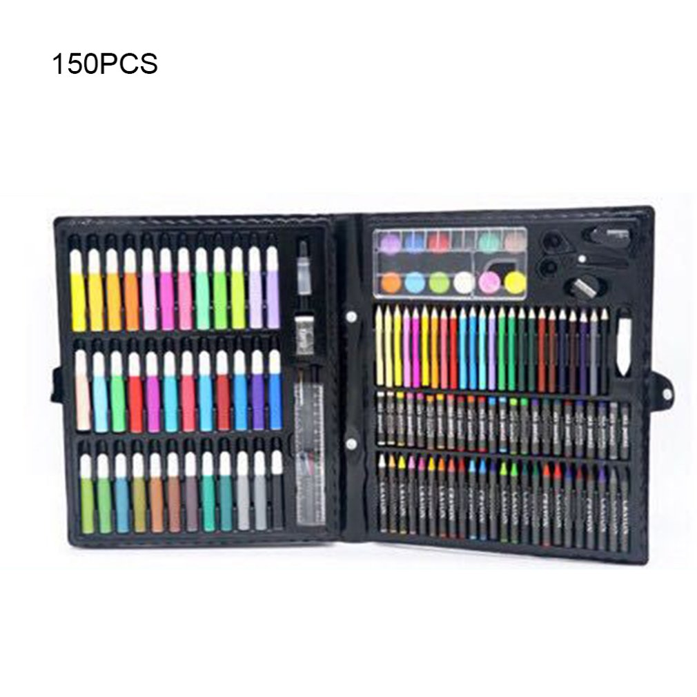 150pcs Professional Color Pencil Child Drawing Set Painting Set Colored Pencils For Children-colored Drawing Pencils Art Set